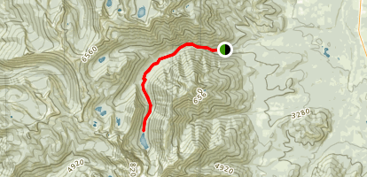 Granite Lake Map