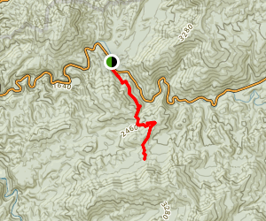 Curry Mountain Trail Map
