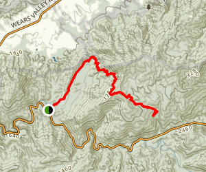 Metcalf Bottoms Trail to Laurel Falls Map