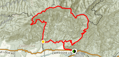 Rich Mountain Loop Trail Map