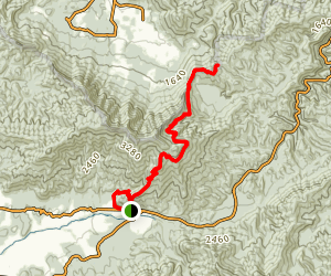 Crooked Arm Scout Mountain Trail Map