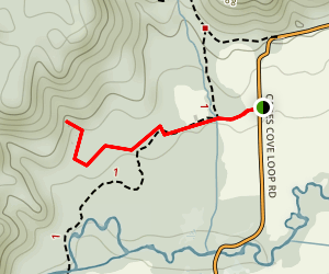 Elijah Oliver Place Trail Map