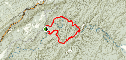 Pine Mountain Loop Trail Map