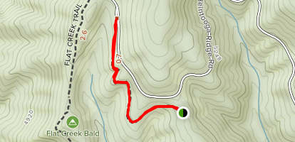 Balsam Mountain Nature Trail Map