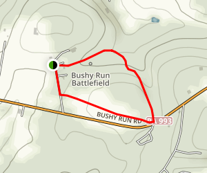 Edge Hill Trail Map