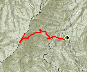 Mount Sterling via Mount Sterling Gap Map