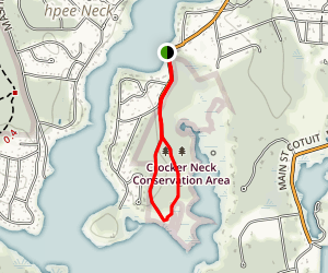 Crocker Neck Conservation Area Trail Map