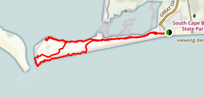 South Cape Trail Map