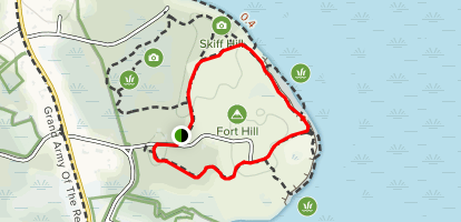 Fort Hill Trail Map