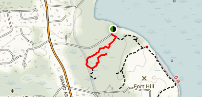Red Maple Swamp Trail [CLOSED] Map