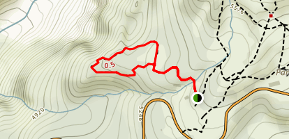 Nisqually Vista Trail Map