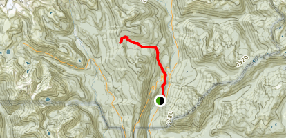 Cowlitz Divide Trail Map