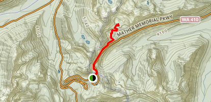Sheep Lake Trail Map