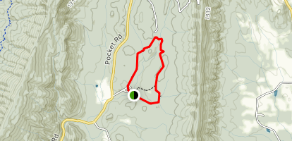 The Pocket Campground Map