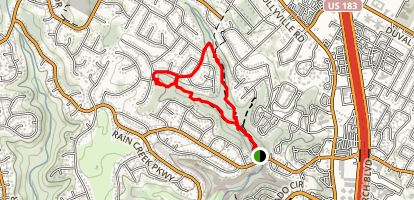 Great Hills Park Trail Map