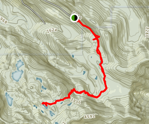 Cutthroat Lakes Trail Map