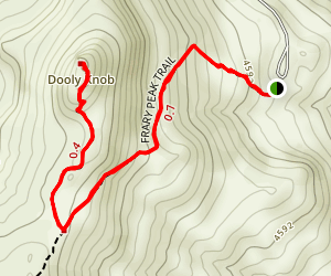 Dooly Knob Trail Map