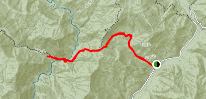 Enloe Creek Trail Map