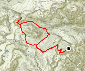 Marion Lake Trail Map