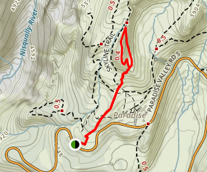Alta Vista Trail Map
