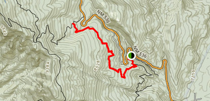 Oso Corredor Trail Map