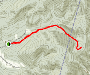 Mattison Hollow Trail Map