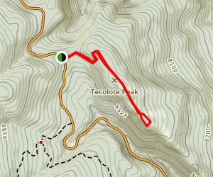 Tecolote Trail Map