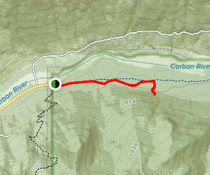 Old Mine Trail Map