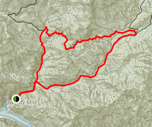 Twentymile Loop Trail Map