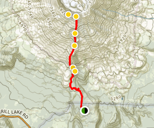 Mount Saint Helens Summit via Ptarmigan Trail Map
