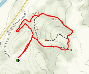 Cactus Hills Trail Map