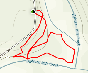 North Creek Rd Map