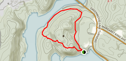 Monks Mountain Trail Map