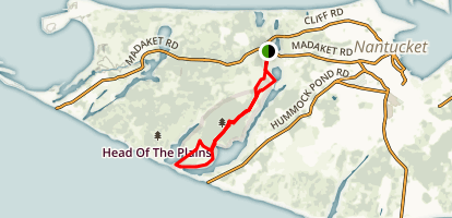 Sanford Farm, Ram Pasture and Woods Trail Map