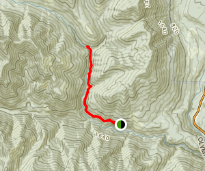 Lower Big Quilcene Trail Map