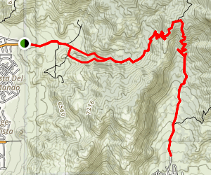 Embudo Canyon Map