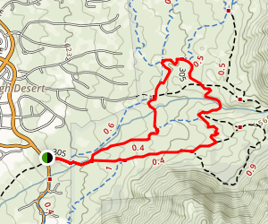 Michial M. Emery Bear Canyon Trail Map