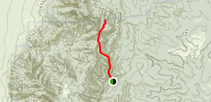 Cerro Blanco Trail Map