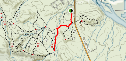 Kodels Canyon Map