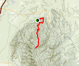 Penasco Blanco Trail Map