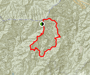 Forney Ridge and Noland Divide Loop Trail Map
