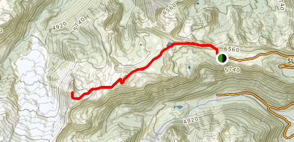 Burroughs Mountain Trail Map