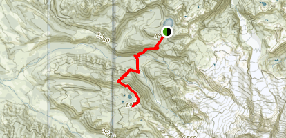 Golden Lakes Trail Map