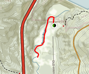 Provo River, Middle Map