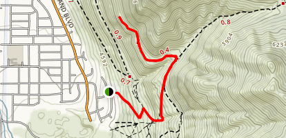 """The """"B"""" Trail [PRIVATE PROPERTY] Map"""