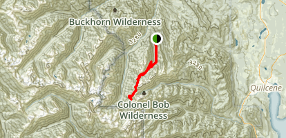 Tubal Cain Trail Map