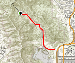 McKelligon Canyon Bike Trail Map