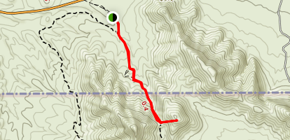Anthony Gap Cave Trail Map