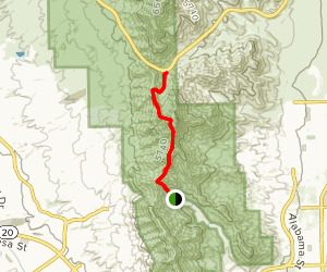 Ron Coleman Trail Map