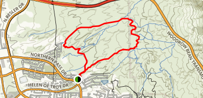 Gilbert's Trail (The Southside) Map